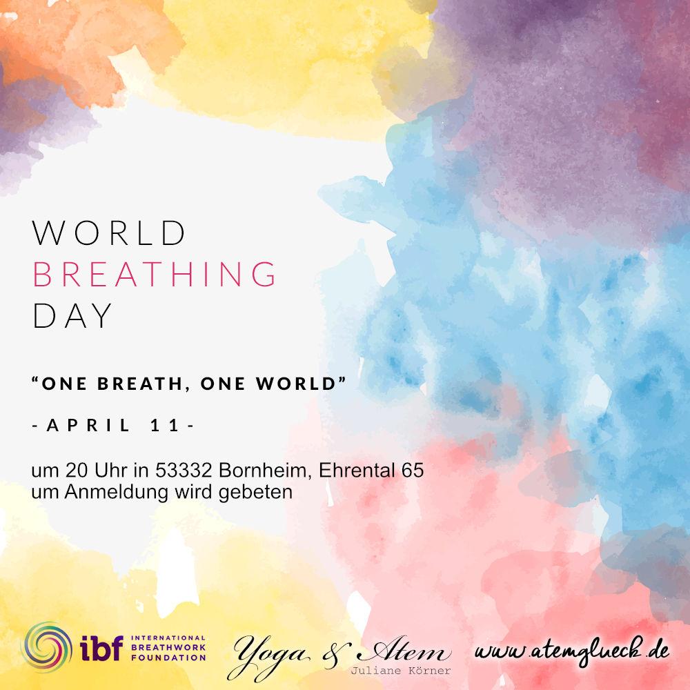 Weltatemtag Bornheim Bonn 11 april 2019