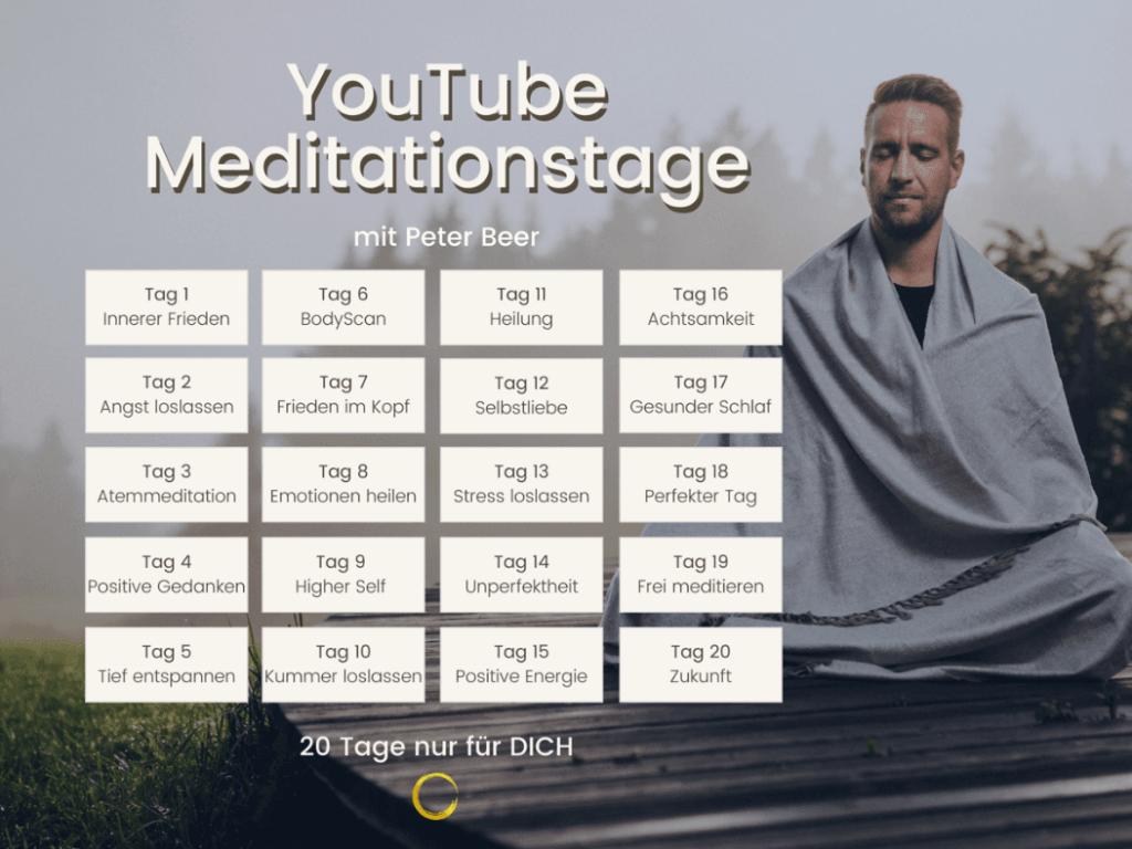 YouTube-Meditationstagen - Peter Beer